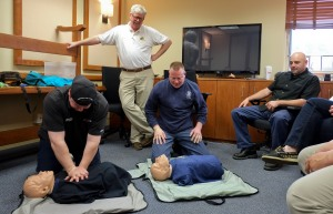 CPR AED Training 1