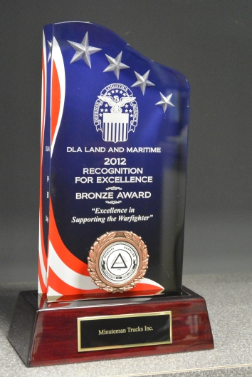 2012 DLA Bronze Excellence Award Minuteman Trucks