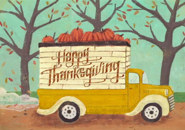 Happy-Thanksgiving-Truck