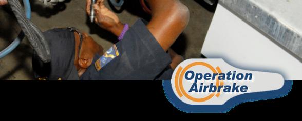 Operation Airbrakes: CVSA Brake Safety Week