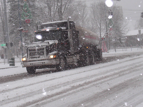 Truck Driving in the Winter