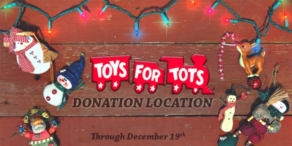 Toys For Tots Banners : We are a toys for tots donation location minuteman
